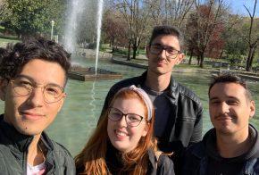 Intercambistas de Xanxerê cumpremdistanciamento socialem Portugal e na Espanha