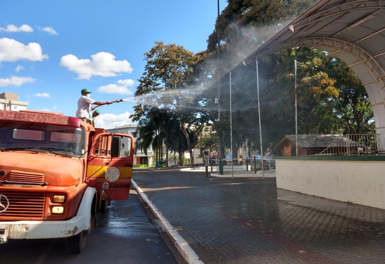Governo emite nota técnica sobre pulverizações de ruas
