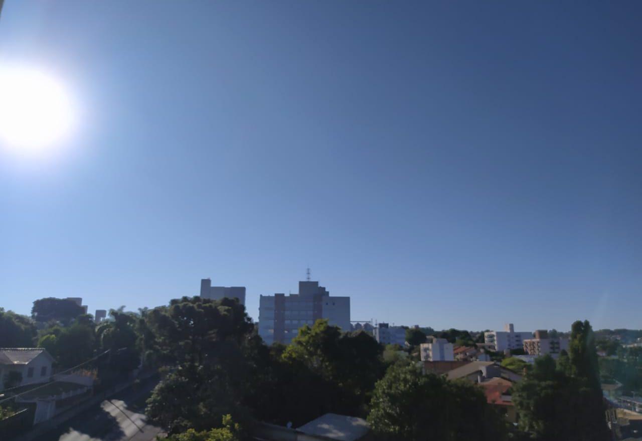 Previsão de céu aberto com poucas nuvens nesta segunda-feira, em Xanxerê