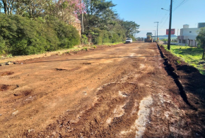 Prefeitura começa obras de recuperação asfáltica no bairro São Romero, em Xanxerê