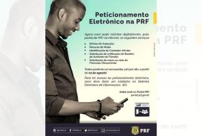 Peticionamento eletrônico na PRF vai agilizar a prestação de serviços ao cidadão