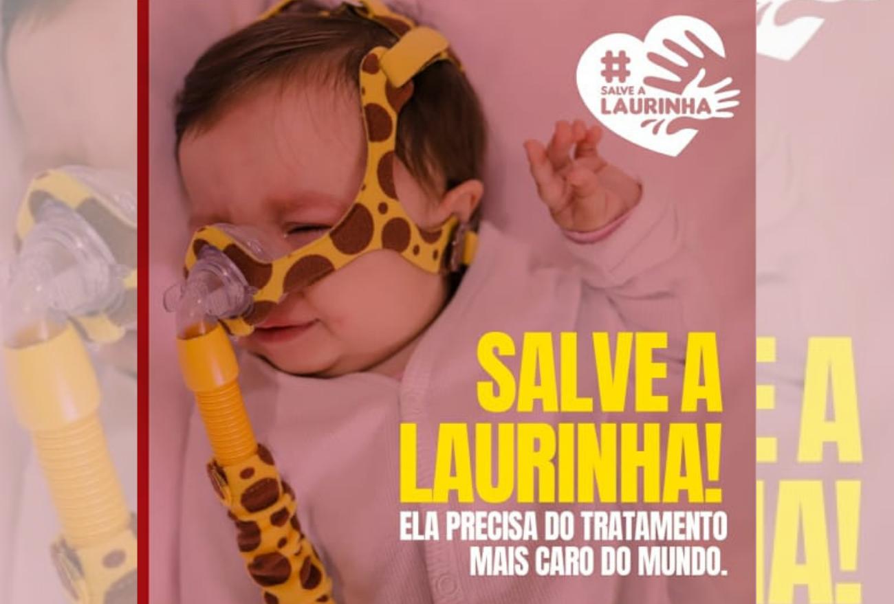 AME: família pede ajuda para pagar tratamento da Laurinha