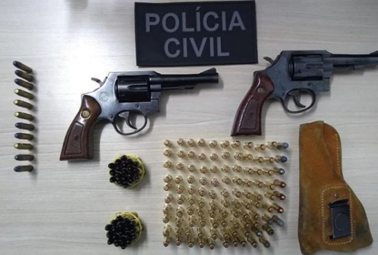 Xanxerê: Homens com armas são presos, pagam fiança e vão responder em liberdade