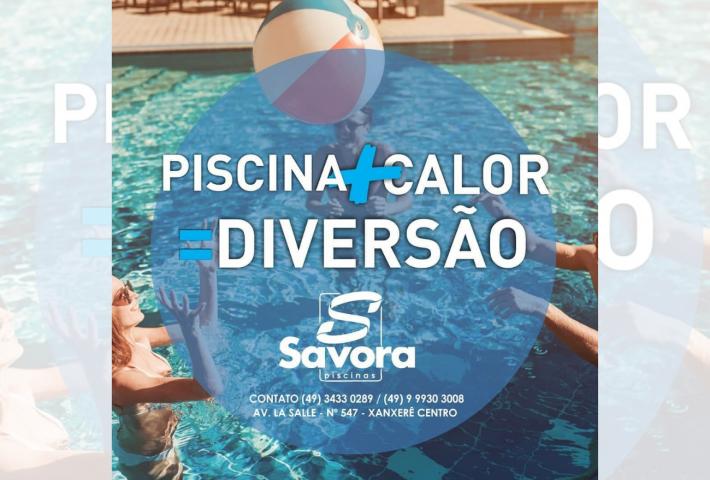Verão chegando… vontade de ter uma piscina aumentando? Então vem para a Savora Piscinas