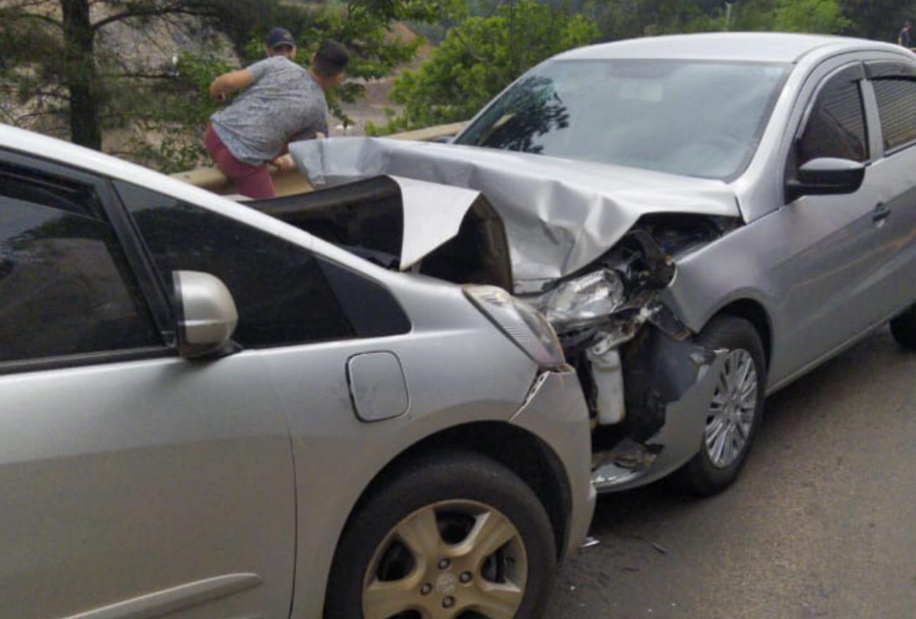 Casal recebe alta após se envolver em acidente na BR-282, em Xanxerê