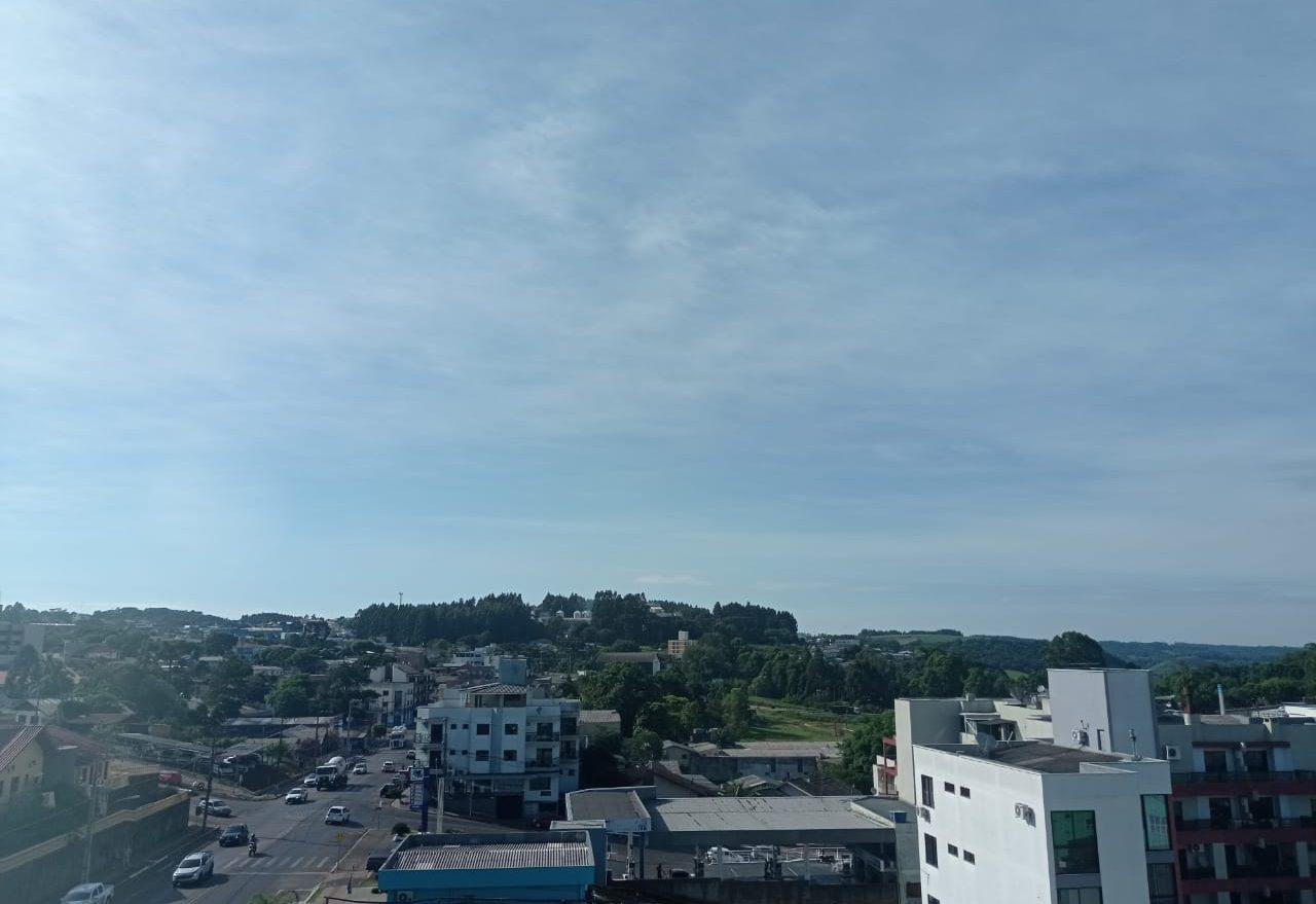 Tempo fica mais frio nesta quinta-feira (10), em Xanxerê