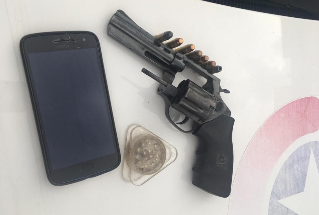 Menor é apreendido por porte ilegal de arma de fogo