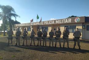 Xanxerê recebe oito novos policiais para ajudar nas fiscalizações