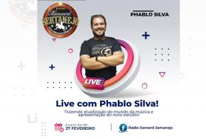 Web Rádio Xanxerê Sertanejo realiza Live neste sábado (27)