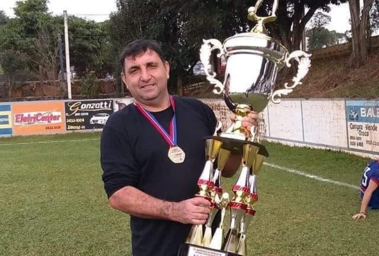 Luto no futebol amador de Xanxerê, morre Candanga, aos 46 anos