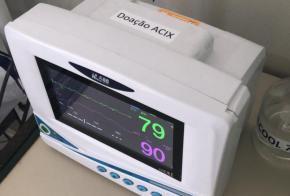 Acix atualiza doações para hospital e Centro de Atendimento ao Coronavírus