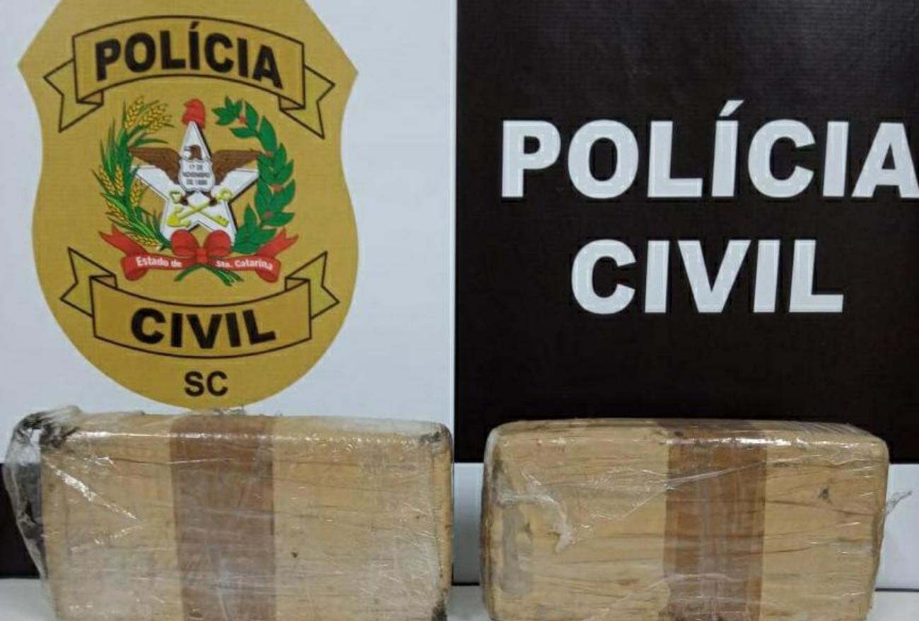 Dois homens são presos por tráfico interestadual de drogas, em Abelardo Luz