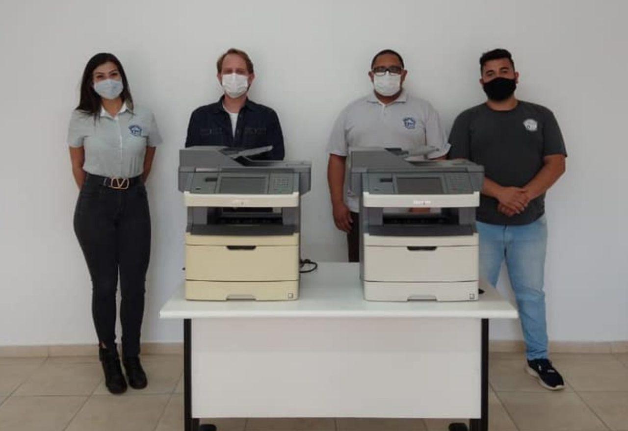Ministério Público doa impressoras para ajudar em projeto do Casep de Xanxerê