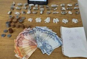 Suspeitos são presos em flagrante por tráfico de drogas, em Abelardo Luz