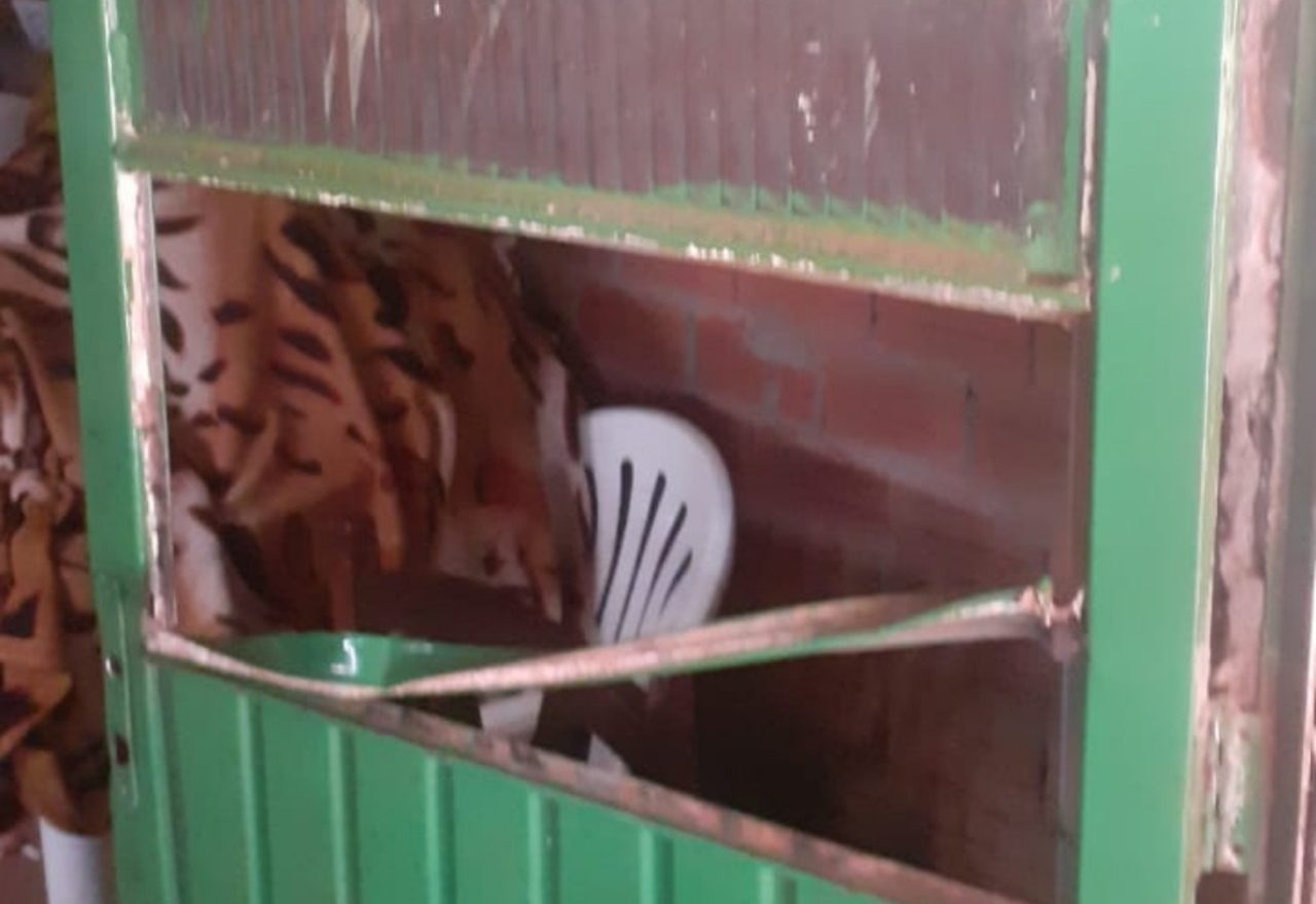 Família carente é assaltada e pede ajuda da comunidade, em Xanxerê
