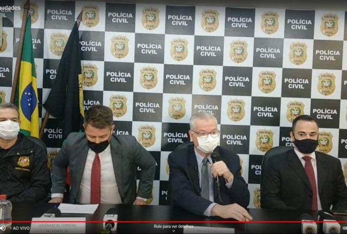 AO VIVO: Polícia Civil conclui inquérito da chacina em Saudades