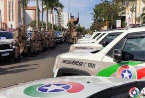 Confira: viaturas são entregues para regiões da Amai visando eficiência nas atividades
