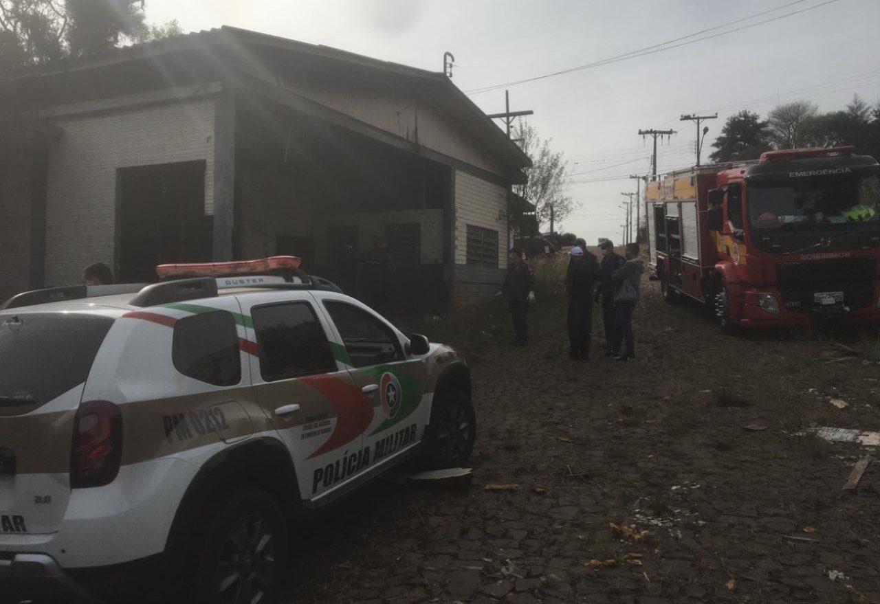 Corpo encontrado queimado ainda não foi identificado e segue no IGP de Xanxerê