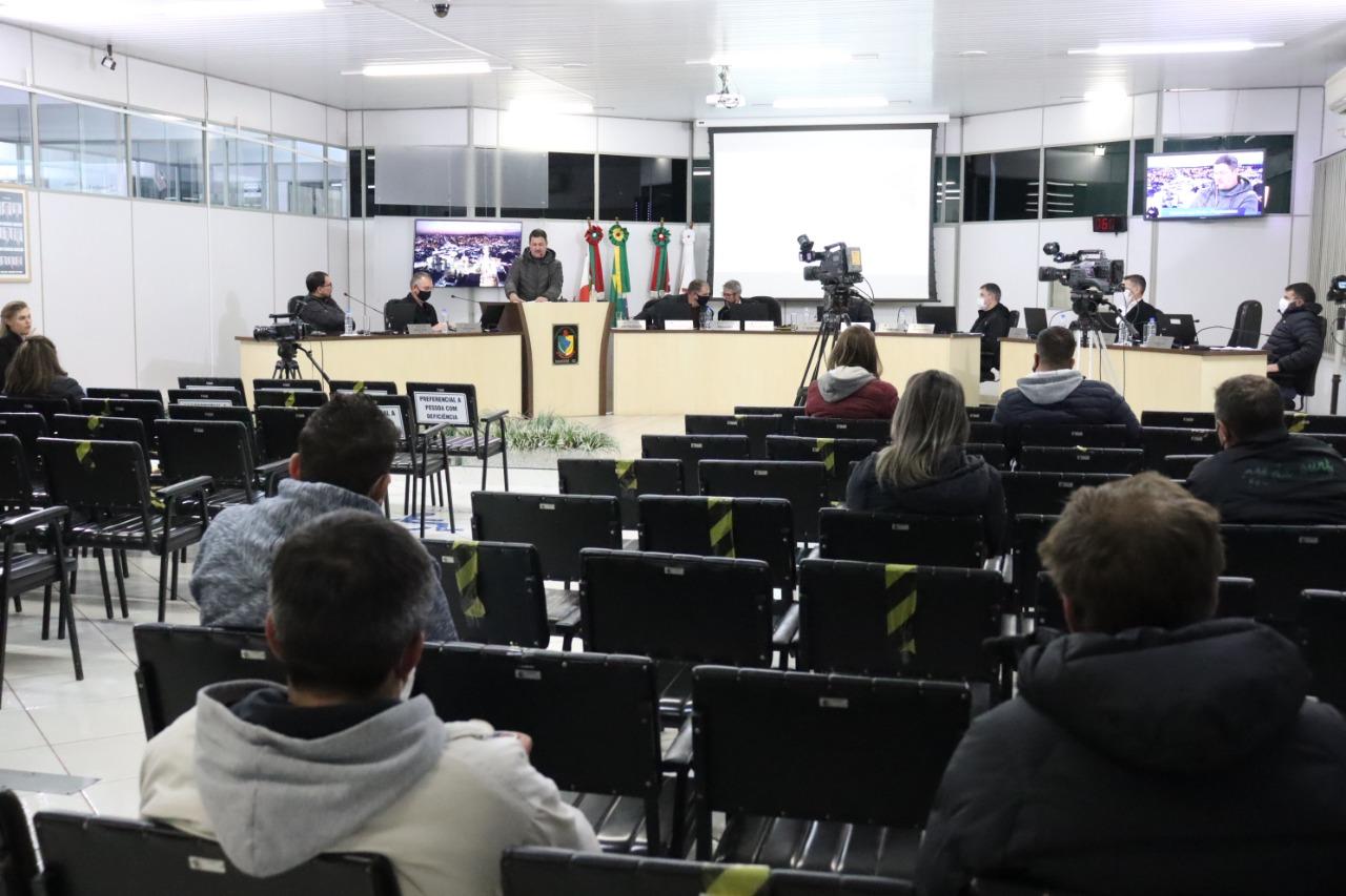 Vereadores de Xanxerê realizam quinta Sessão Ordinária de julho
