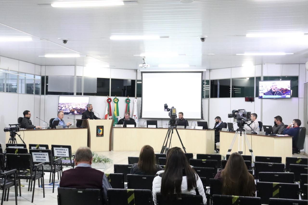 Confira o que foi debatido na sessão desta quarta-feira (21) na Câmara de Xanxerê