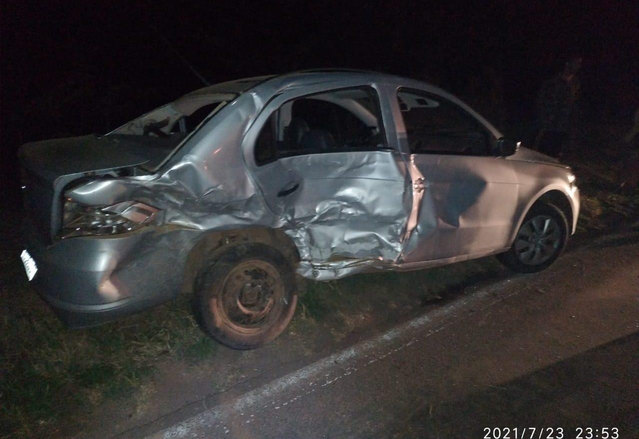 Criança fica gravemente ferida em acidente de trânsito em rodovia estadual