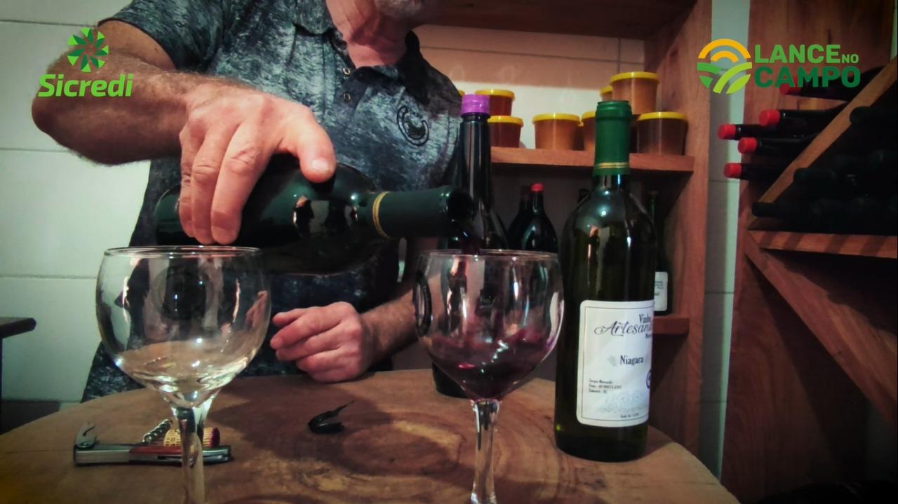 Lance no Campo: xanxerenses mantém tradição da produção de vinho artesanal