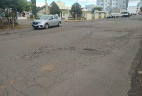 Martarello fala sobre situação das ruas do centro e bairros de Xanxerê