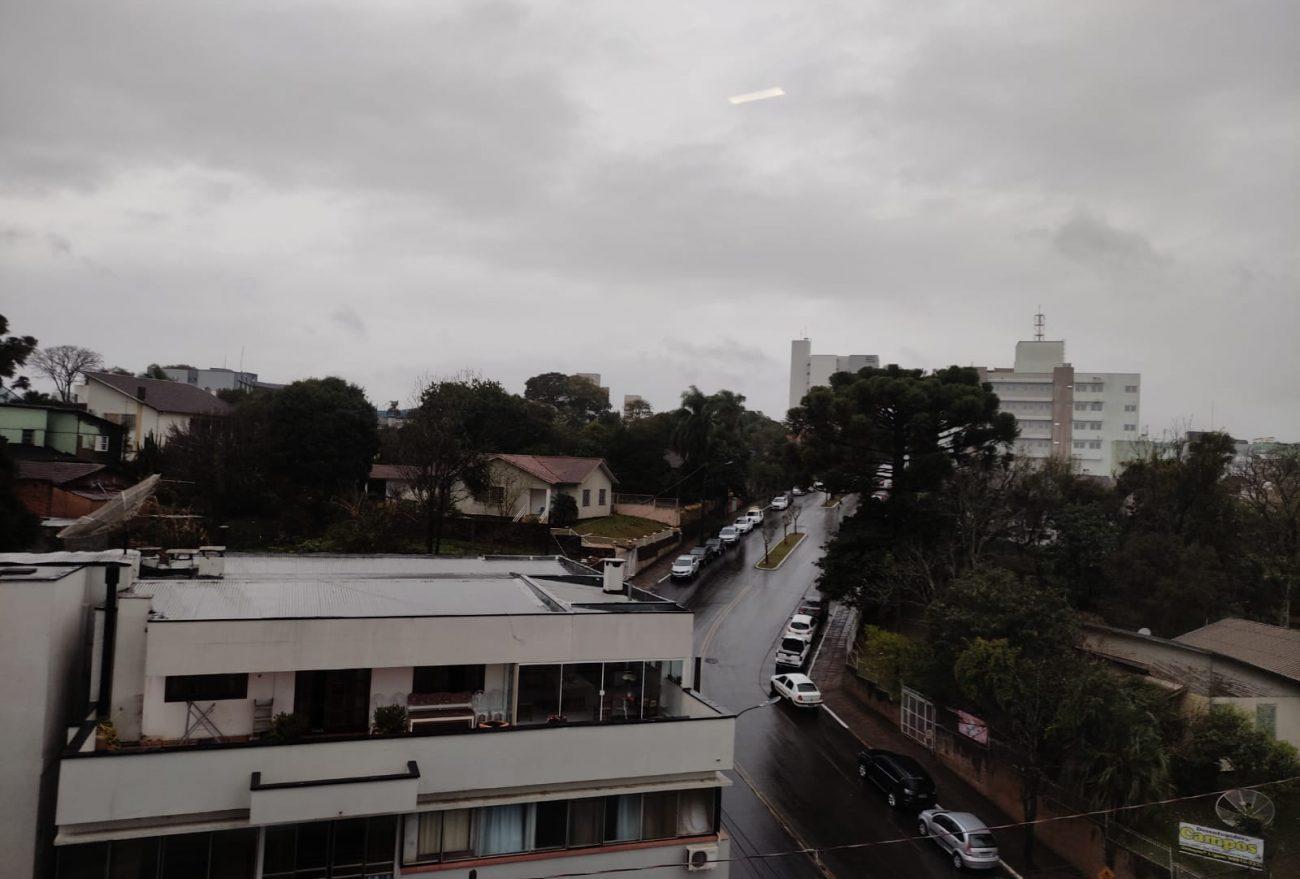 Terça-feira (27) será chuvosa em Xanxerê