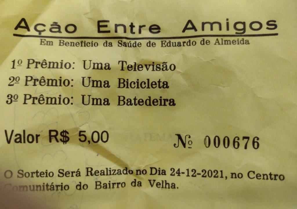 Homem de Seara perde quase R$ 300 no que diz ser golpe do bilhete