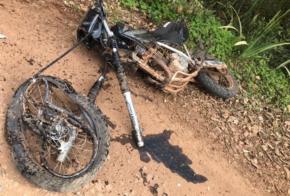 Colisão entre carro e moto deixa jovem ferido no Oeste Catarinense