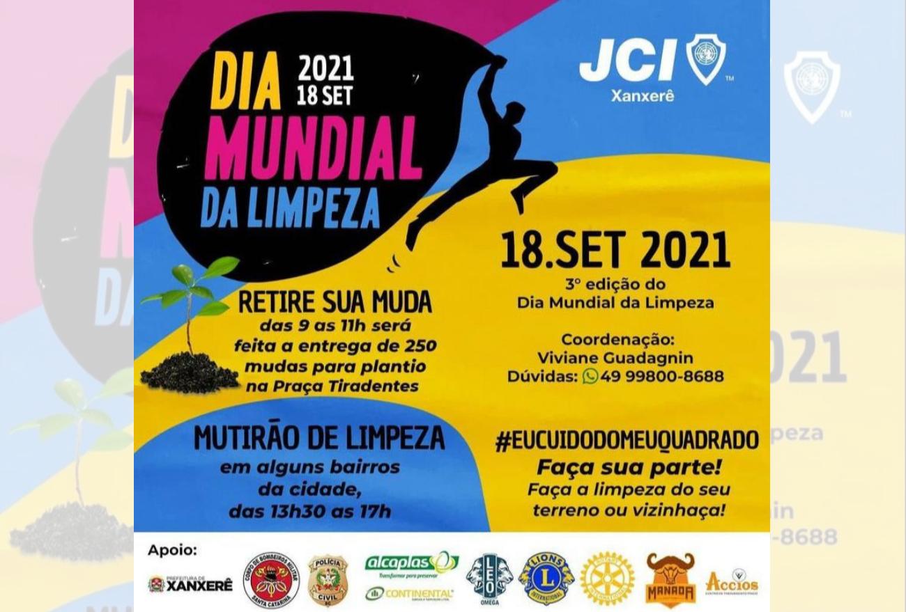 JCI Xanxerê organiza a 3° edição da ação Dia Mundial da Limpeza