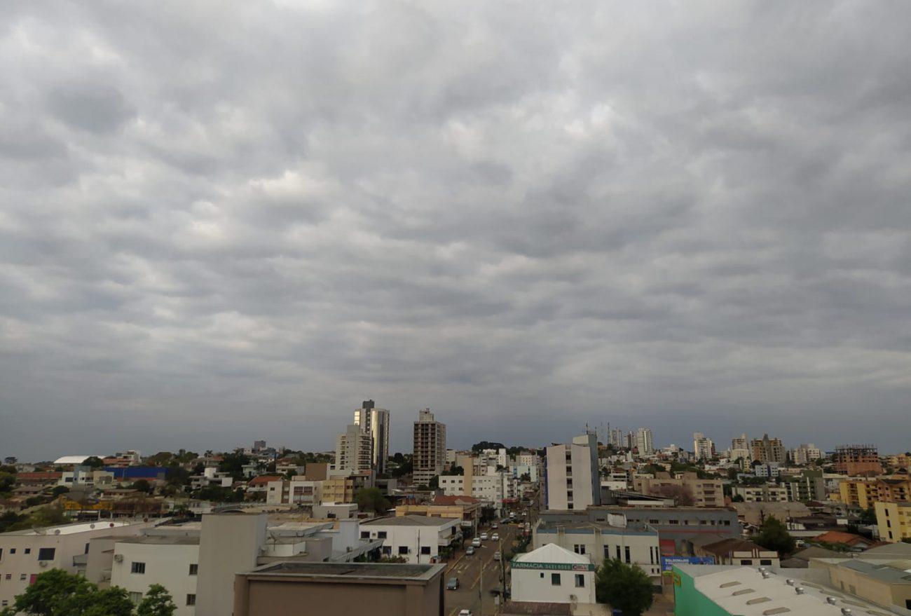 Possibilidade de chuva retorna a partir desta quinta-feira (23), em Xanxerê
