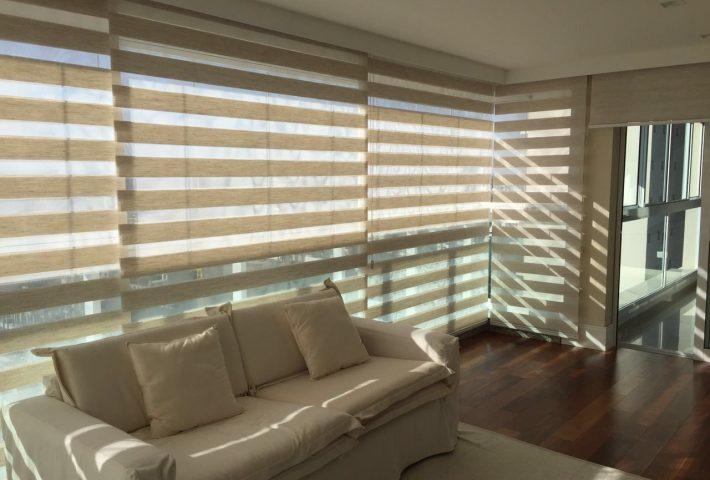 Renove Acabamentos oferece linha completa de persianas, além de lavagem e manutenção