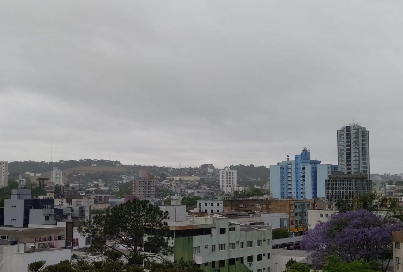 Semana inicia com chuva e temperaturas amenas, em Xanxerê