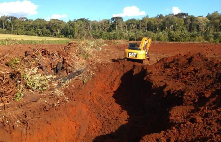 Polícia Ambiental flagra desmatamento de grandes proporções em Xanxerê