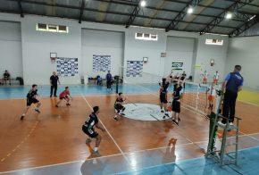 Voleibol masculino de Xanxerê estreia com vitória na Olesc